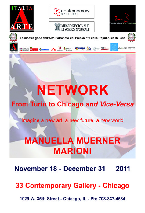 Network from Turin to Chicago and Vice-Versa
