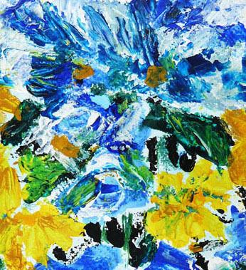 Vase4, 2010, acrylic