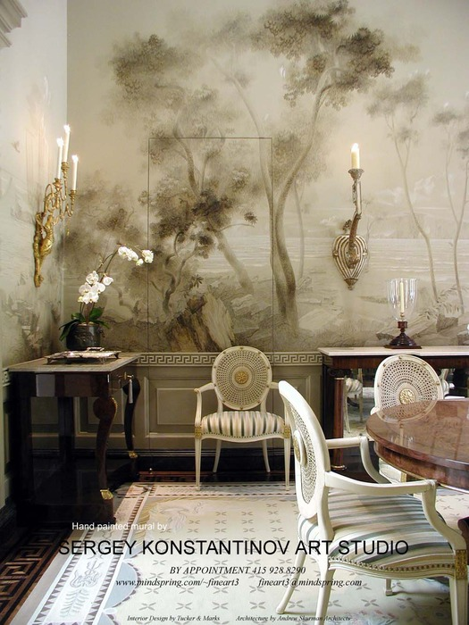 Mural room.Art Studio Sergey Konstantinov.