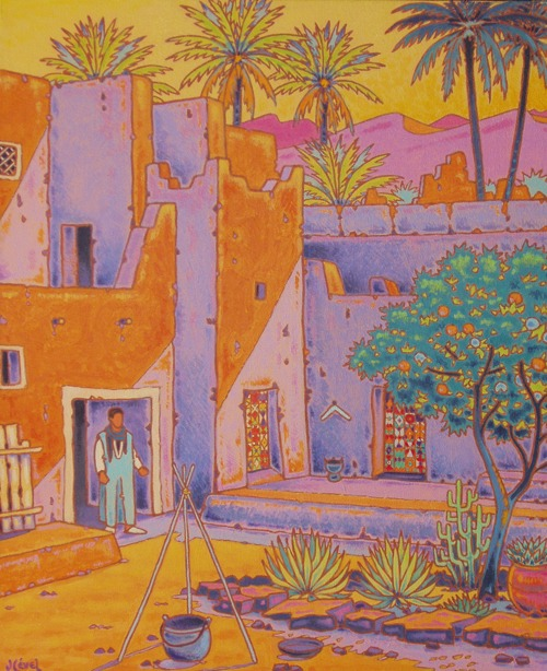 casbah at the desert's gate