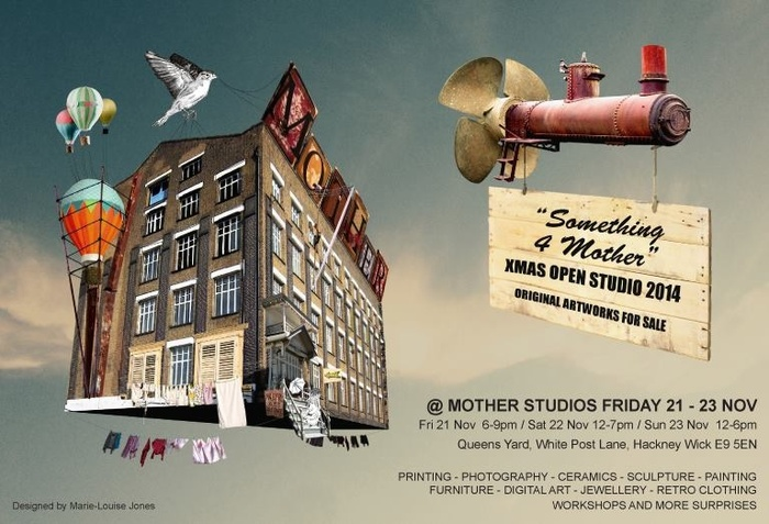 Xmas open at mother studios