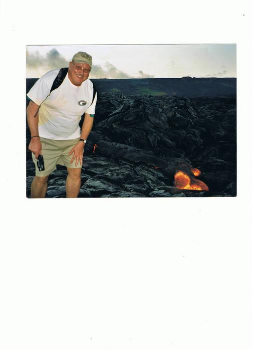 Hawaii's The  Big Island's Lava Glow