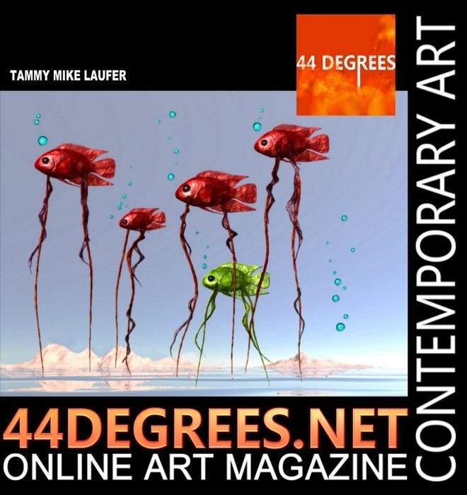 44 DEGREES art magazine