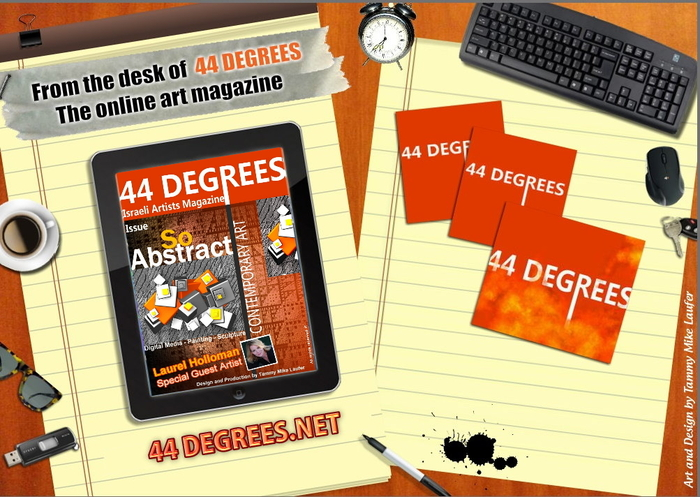 44 DEGREES ART MAGAZINE