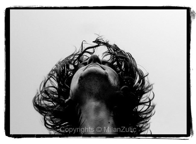 Self portrait by Milan Zulic