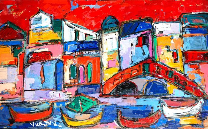 "Eurasia Center invites you and your friends to a Special Social/Business Networking Party featuring art of Len Yurovsky ""Colors of the Mediterranean"" on Thursday, September 24, 2015 from 6:00-10 p.m.; The Melrose Hotel, 2430 Pennsylvania Ave. NW,  Washing"