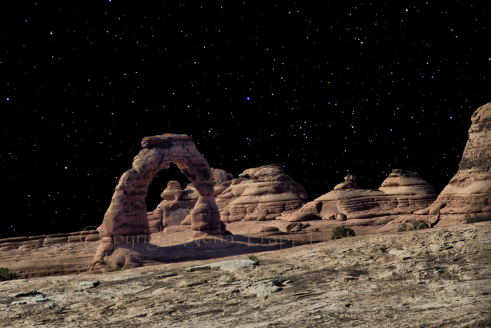 Delicate Arch Moonscape