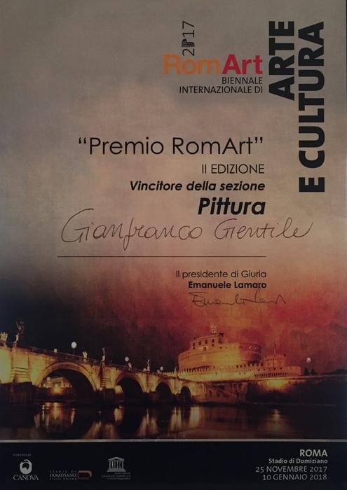 Winner RomArt Biennale 2017