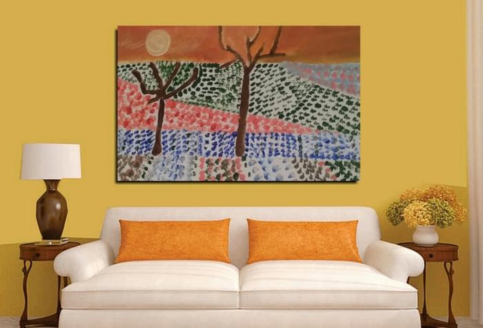 Wheatfeild project by Artist Antonello reproduces Vincent Van Gogh