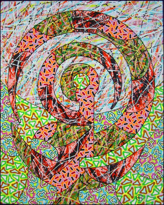 Comprehensive eguialent  oil, canvas, 100x61sm.  2016