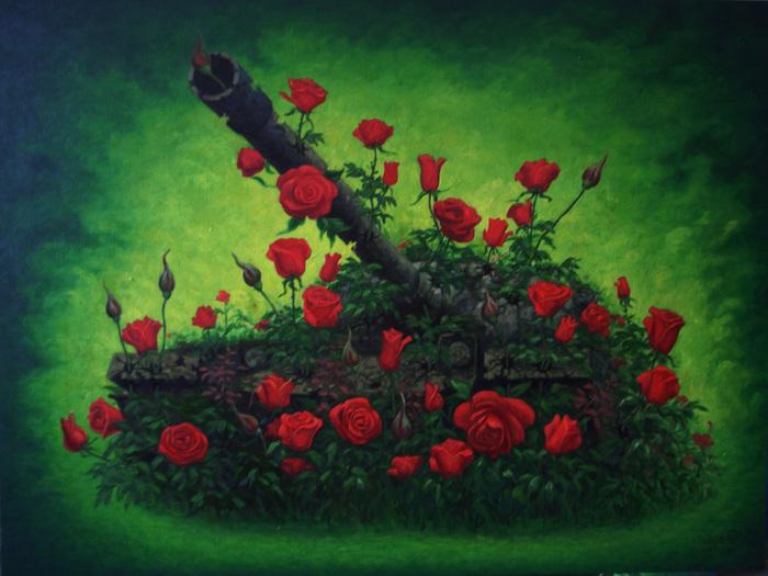 Rose and tanks