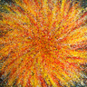 CONSCIOUS ABSTRACT EXPRESSIONISM. THE SOLAR GOD