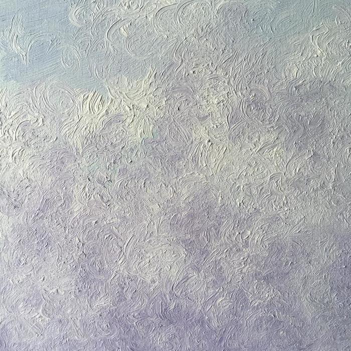 'Tumbling Curls' - Oil on Canvas Board