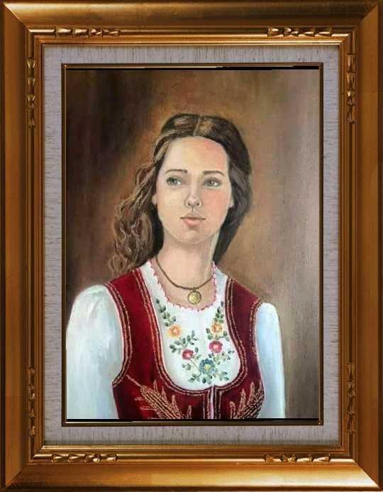 Serbian girl