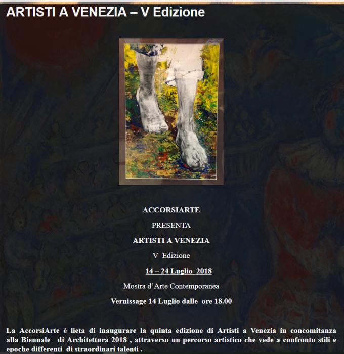 artisti a venezia