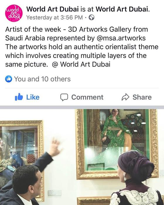 World Art Dubai April 2019