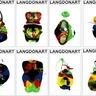 Exposition peintures LangdonArt 22 avril au 12 mai 2019 Galerie2456 Montreal