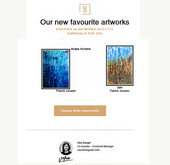 Singulart - Discover 20 Artworks selected for you.