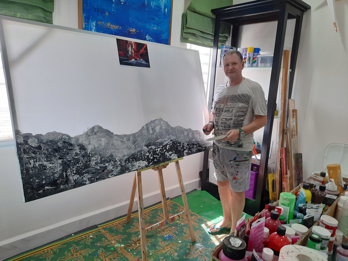 Patrick Joosten - Working in my Studio