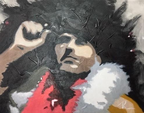 Autoportrait 1, « En scène »