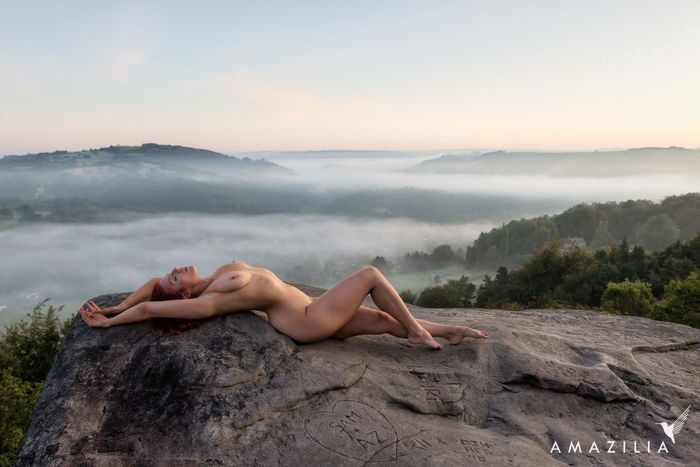 Nudes in Nature - Arabella in Colour