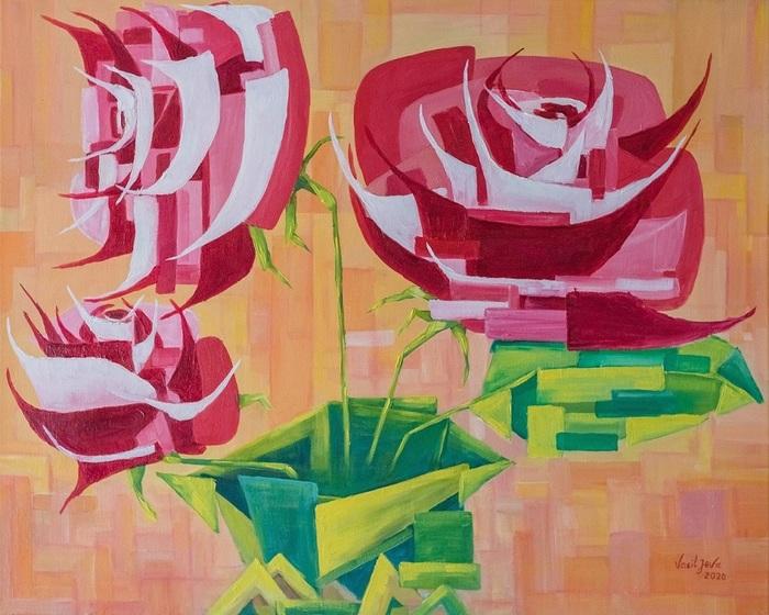Magic roses.