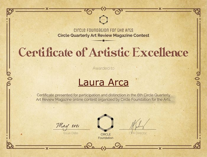 EXCELLENCE AWARD – CIRCLE FOUNDATION FOR THE ARTS