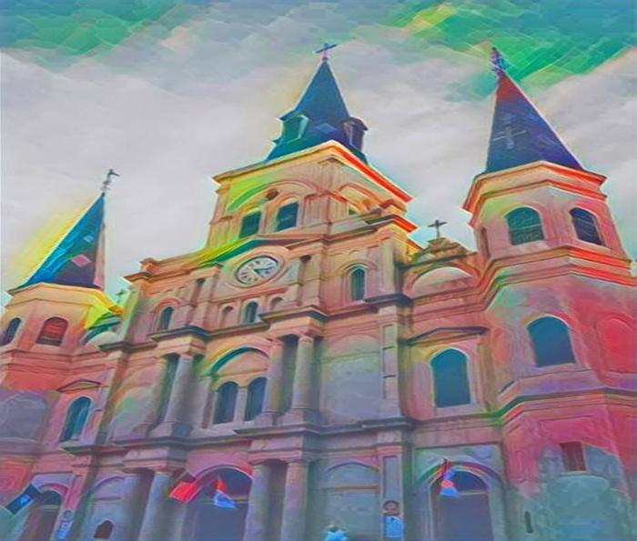 The new St Louis cathedral