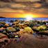 SUNSET AT MALIBU