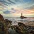Lighthouse in Ahtopol, Bulgaria