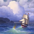 The Lady Linda sailing out of the Storm into the Light