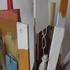 Stecchi usati per rumare il colore (particolare) - THE STICK USED TO STIR THE COLOR ARE ALREADY  PAINTING