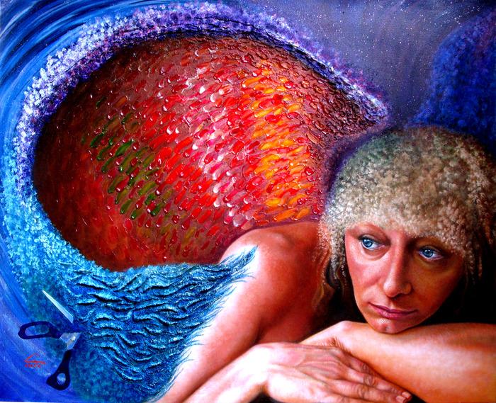 VITTORIA olio e materico su tela cm 100X80 2008
