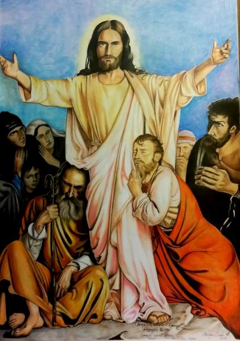 cristo e i discepoli