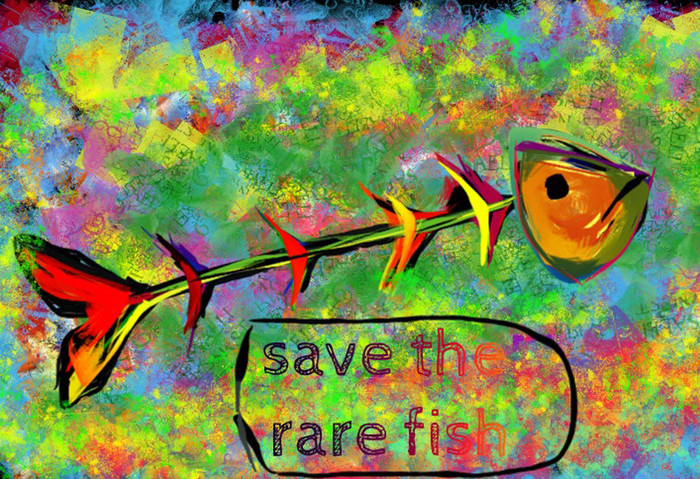 save the rare fish