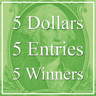 "5 Dollars, 5 Entries, 5 Winners! – ""Special"" Art Competition"