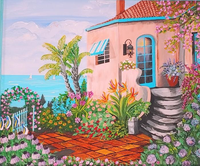 Lovely Cottage overlooking Ocean