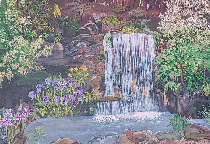 Desconso Gardens Waterfall