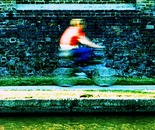 Jonny Thompson Photography 'Cyclist on Canal'