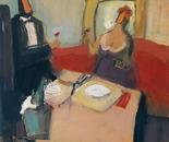 RENDEZVOUS oil/canvas 60 x 60 cm, 2011; Nr. 11.24