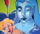 Vierge à l'enfant ( d'après BECCAFUMI )