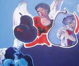 Les anges pleurant le Christ mort ( d'après Il GUERCINO )