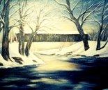 Winter At Bennett's Mill