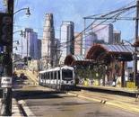 1st Street Train Station LA