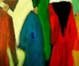 The embodiment of Egypt 70x90x4 cm acrylic on canvas 2010