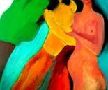 Envy 70x90x4 cm acrylic on canvas 2010