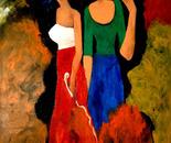 Ladybird 80x120x2 cm acrylic on canvas 2009