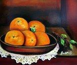 5 oranges