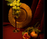 Still life with pommegranate