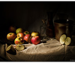 Still life with apples III